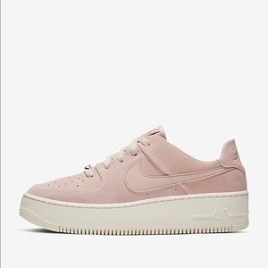 Nike Air Force 1 Sage Low Particle Beige W5.5